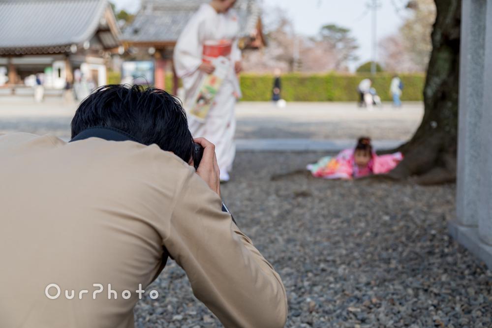 桜_春の七五三前撮り12