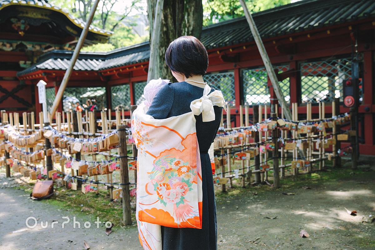 春のお宮参り出張撮影3