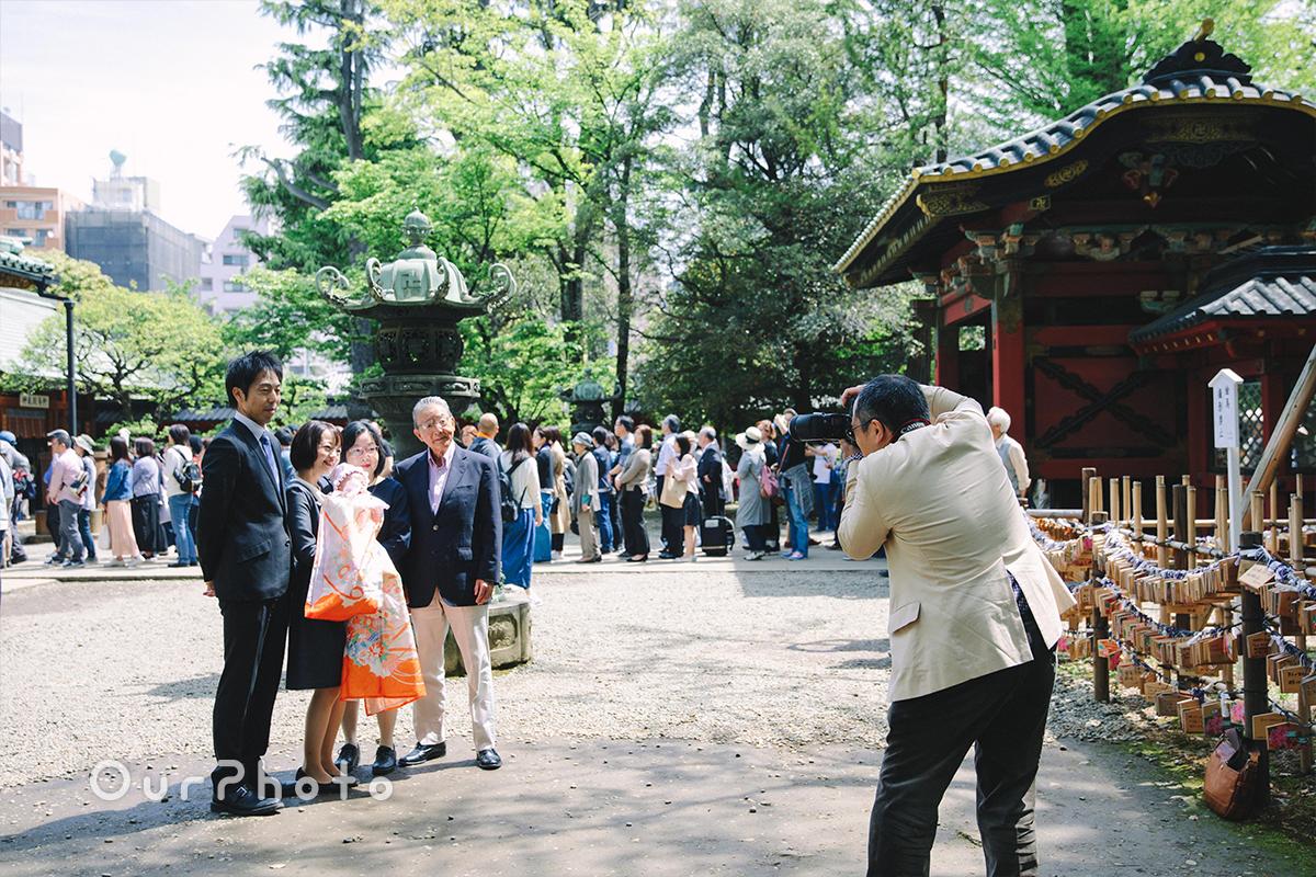 春のお宮参り出張撮影4