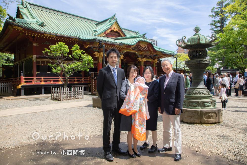 春のお宮参り出張撮影5