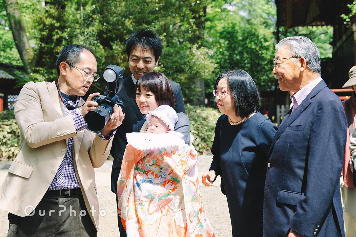 春のお宮参り出張撮影6