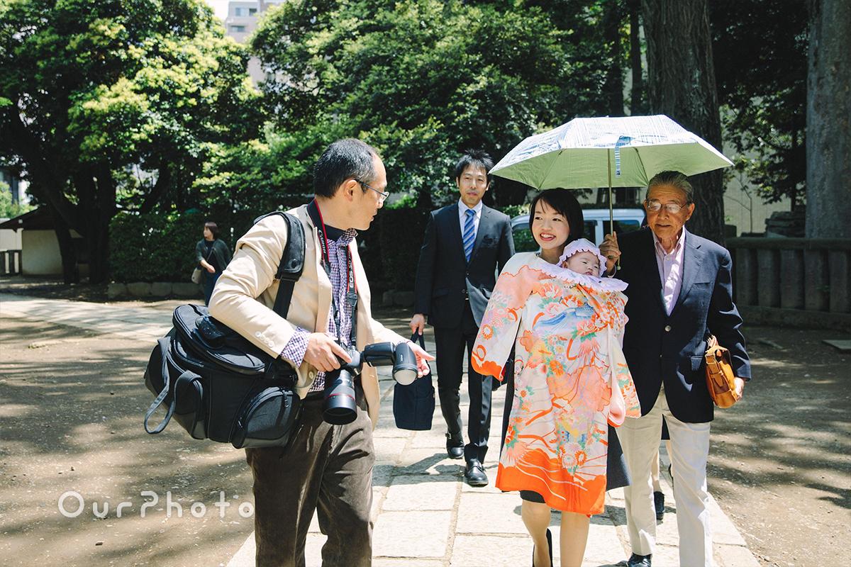 春のお宮参り出張撮影7