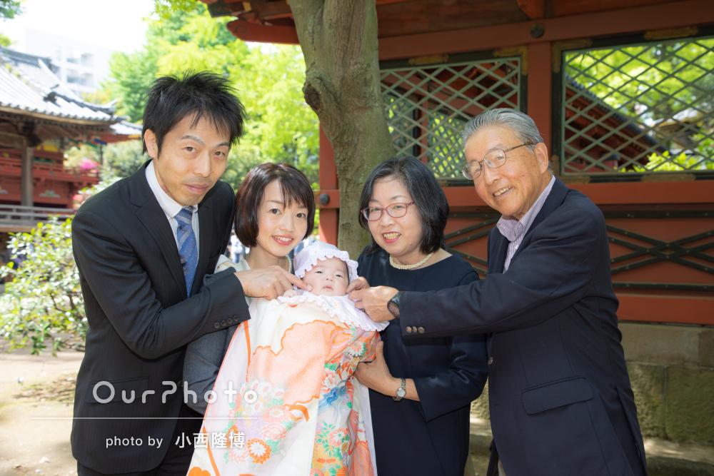 春のお宮参り出張撮影9