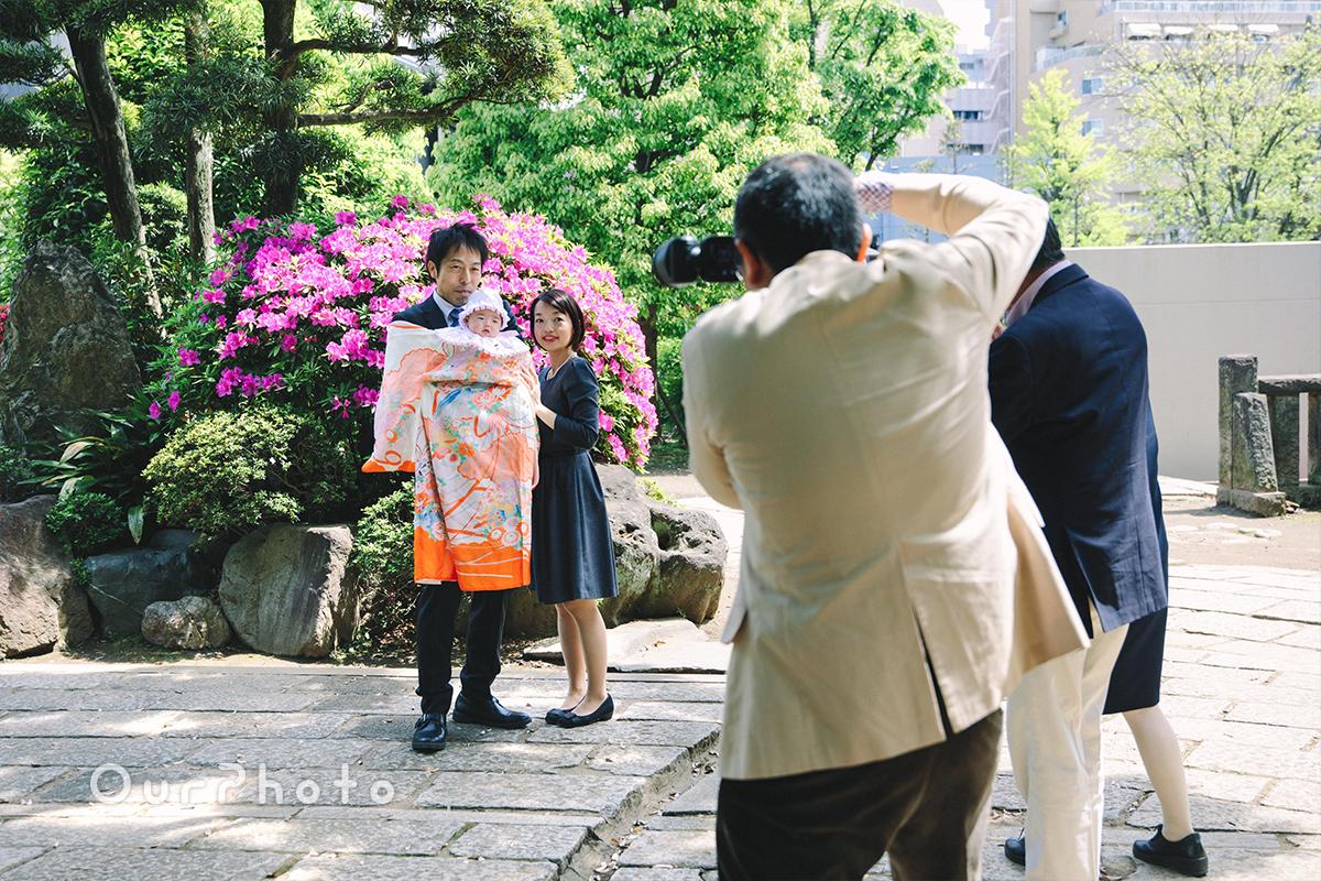 春のお宮参り出張撮影10
