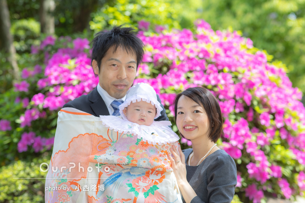 春のお宮参り出張撮影11