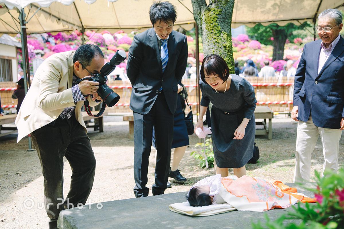 春のお宮参り出張撮影15