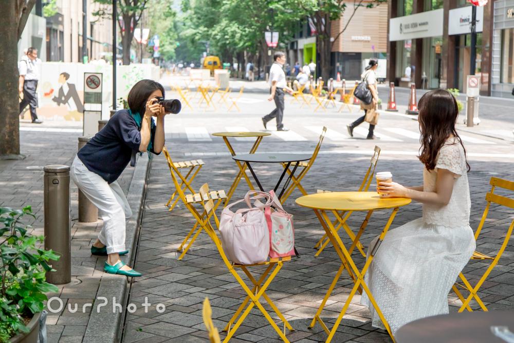 婚活用プロフィール写真撮影10