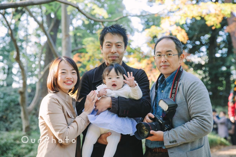 年賀状用家族写真の撮影サムネイル