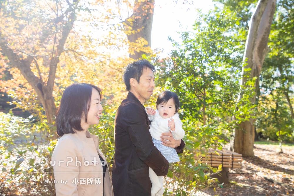 年賀状用家族写真の撮影5