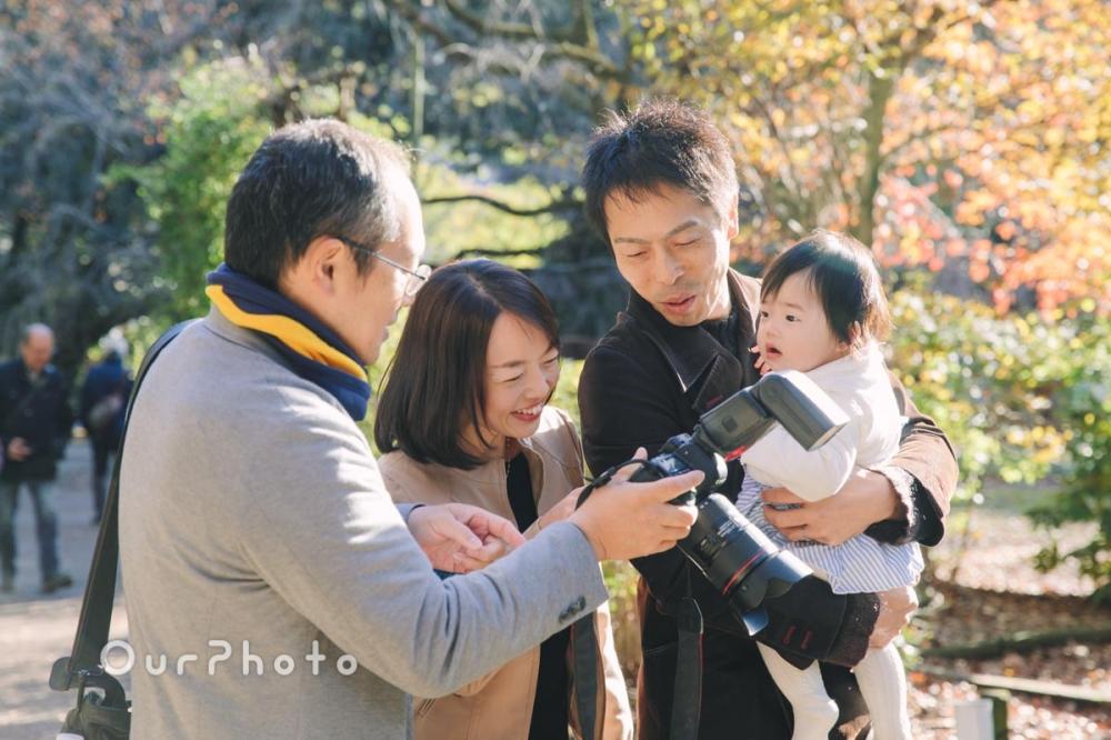 年賀状用家族写真の撮影6