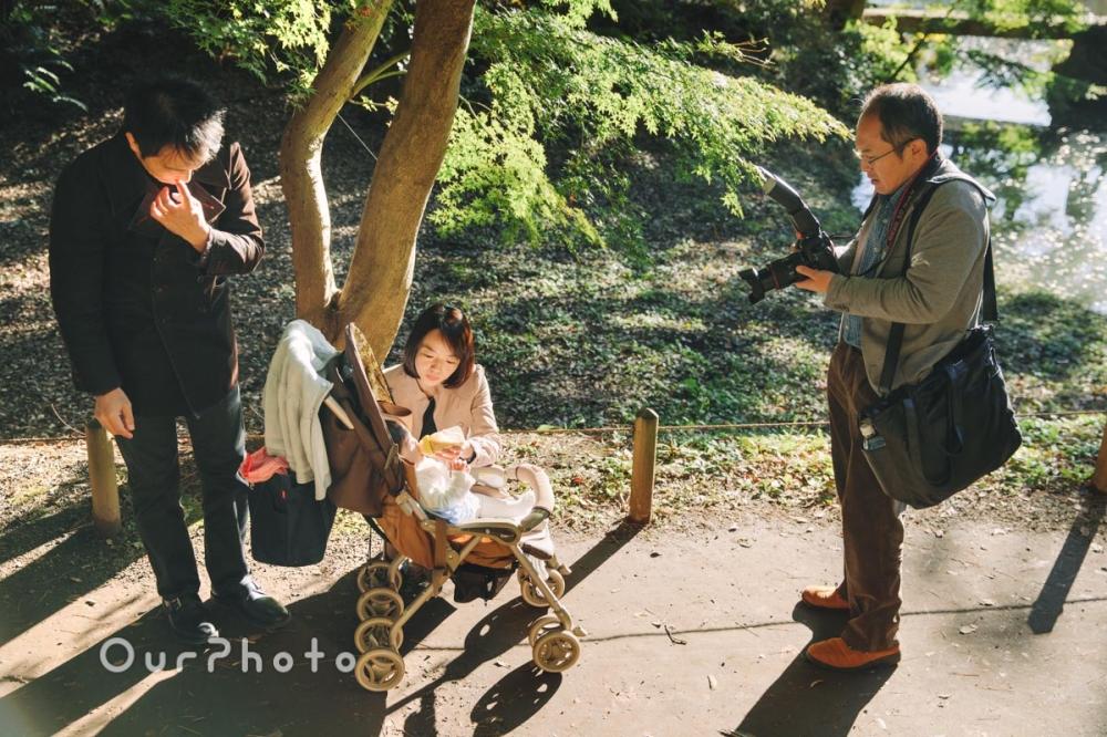 年賀状用家族写真の撮影7
