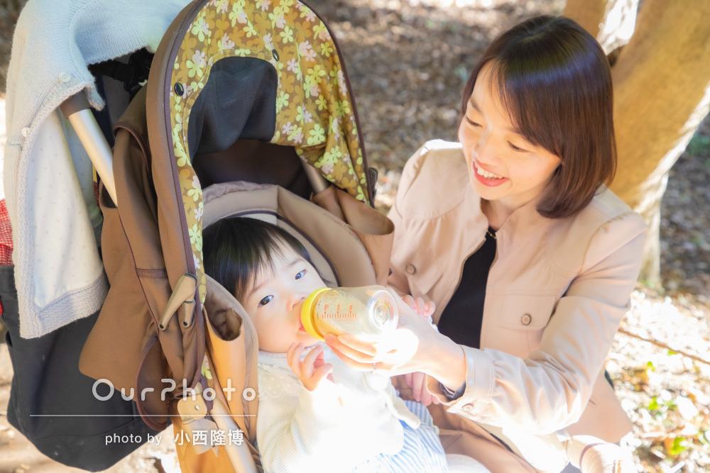 年賀状用家族写真の撮影8