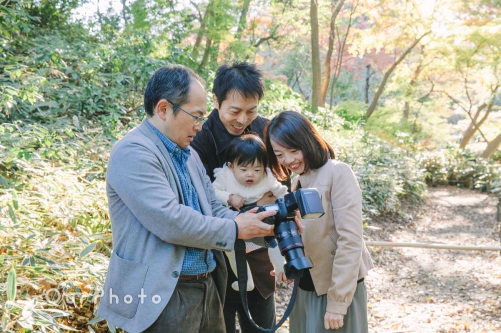 年賀状用家族写真の撮影9