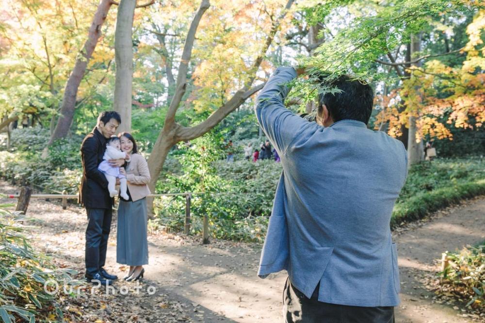 年賀状用家族写真の撮影10