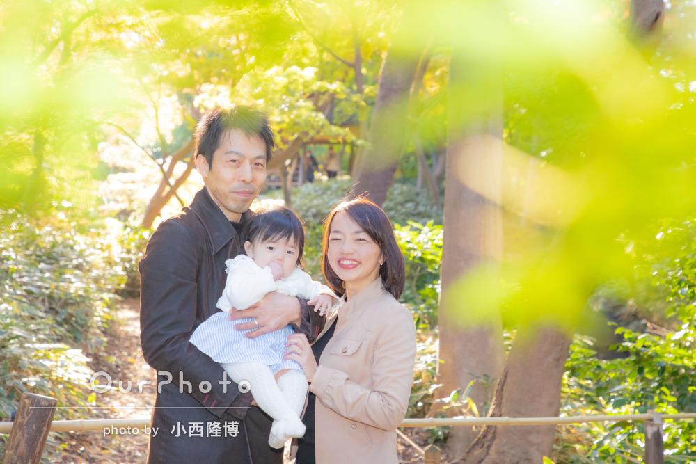 年賀状用家族写真の撮影11