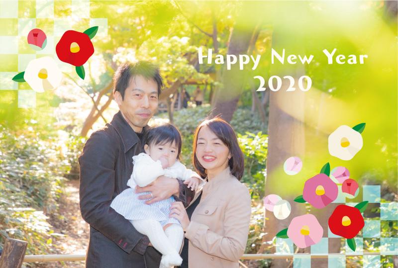 年賀状用家族写真の撮影12