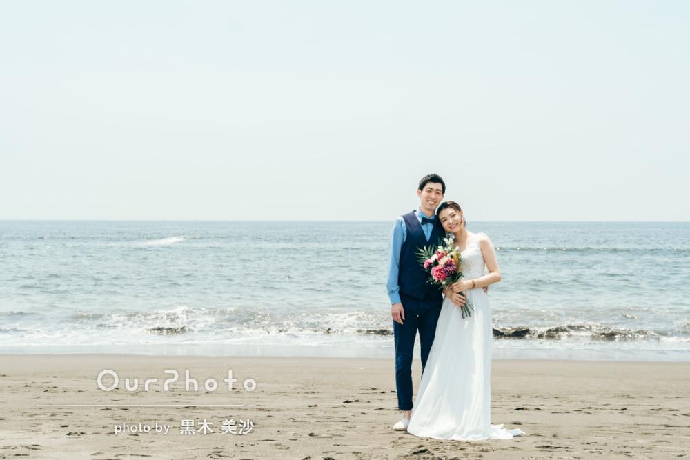 延期した結婚式、少しでも思い出作りを!海辺でのウェディング撮影に同行4