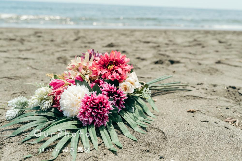 延期した結婚式、少しでも思い出作りを!海辺でのウェディング撮影に同行5