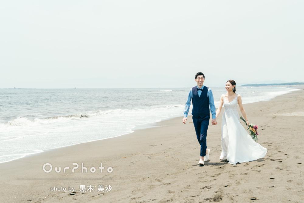 延期した結婚式、少しでも思い出作りを!海辺でのウェディング撮影に同行12