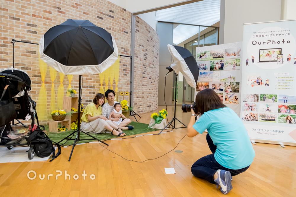 フォトブック展「MEKURU2019」での撮影体験会