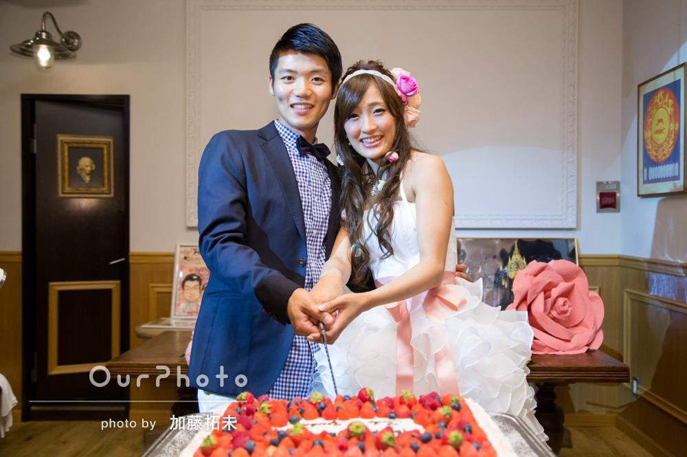 大盛り上がりの結婚式二次会を撮影